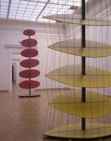 Infinite motion. Yellow fragment. 2000. height: 4,5 m