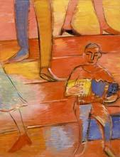 Little musician. 2005. 115x85 |canvas.oil|
