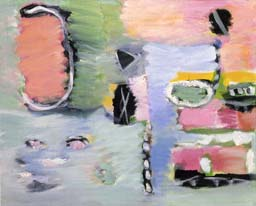 Fragment of a journey. Shore II. 2004. 45x55 |canvas.oil|