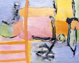 Fragment of a journey. Shore I. 2004. 45x55 |canvas.oil|
