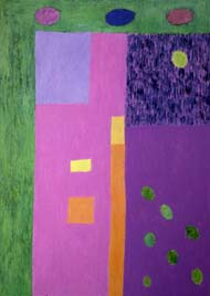 Fragment of a journey. 1989-92. 210x150 |canvas.oil|