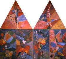 Circus I. 1985-87. 130x140 |canvas.oil|
