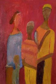 Meeting. 1987 |canvas.oil|