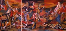Road. 1979-85. 300x600 |canvas.oil|