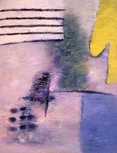 Yellow shape. 1992-93. 195x150 |canvas.oil|