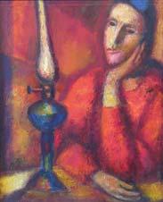 Mariana. Twilight. 1976. 50x42 |canvas.oil|