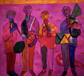 Music for all. 1991-93. 220x235 |canvas.oil|
