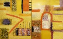 Field /diptych/. 1991. 145x228 |canvas.oil|