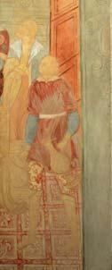 Herod's Feast. Replica of a fresco. Yaroslavl school. 1975. 217x89. |canvas.oil|